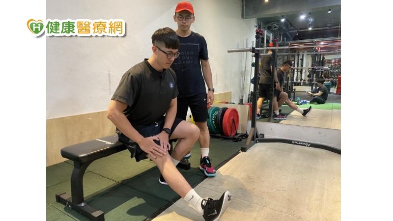遠離肌少症 物理治療師兩招增強下肢肌力